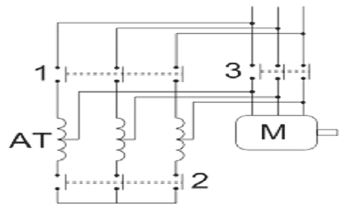 Auto Transformer Starter Circuit