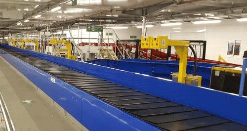Baggage Conveyor Belt System