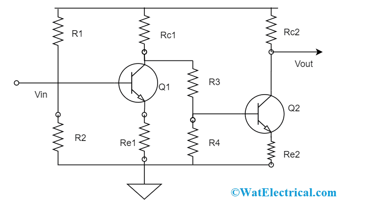 CE Cascade Amplifier Circuit