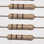 Carbon Composition Resistor