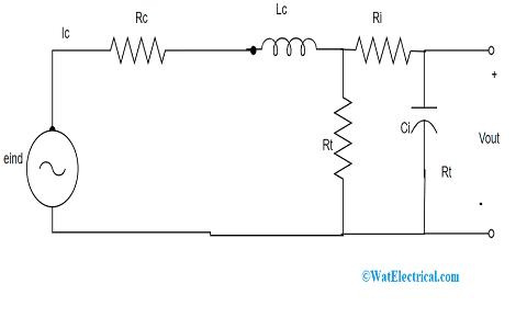 Equivalent Circuit With Passive Integrator
