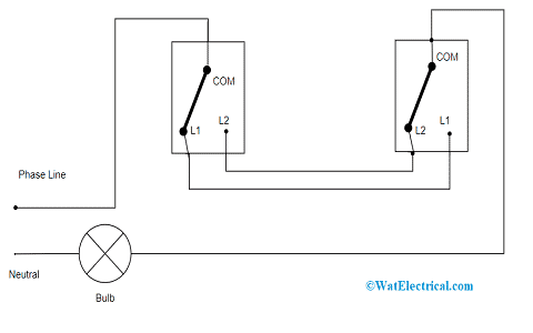Older Method of Two Way Switch Wiring