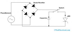 Piezoelectric Generator Circuit