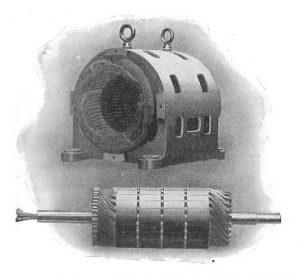 Slip ring motor
