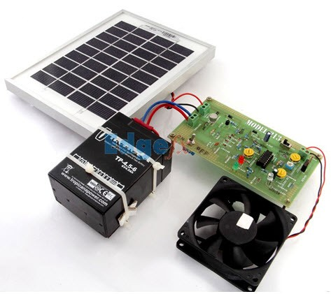 Solar Power Charge Controller Project Kit