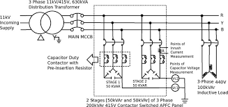 Three Phase Capacitor Bank Wiring Diagram
