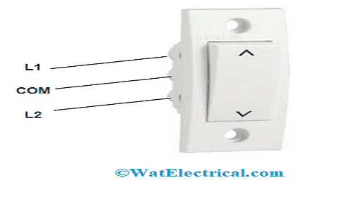 Two Way Switch with Terminals