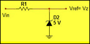 Zener Diode as Voltage Reference