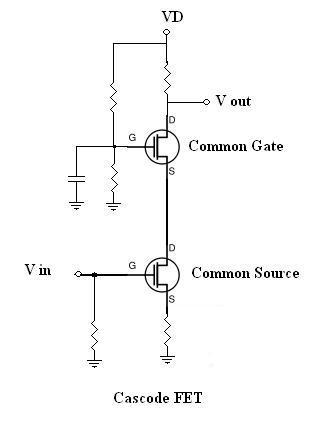 Cascode Amplifier Circuit