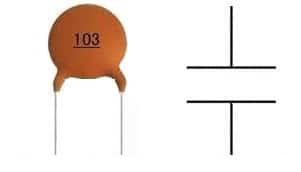 Ceramic Capacitor Symbol
