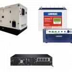 Generator, Inverter And UPS