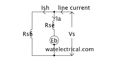 long shunt motor circuit diagram