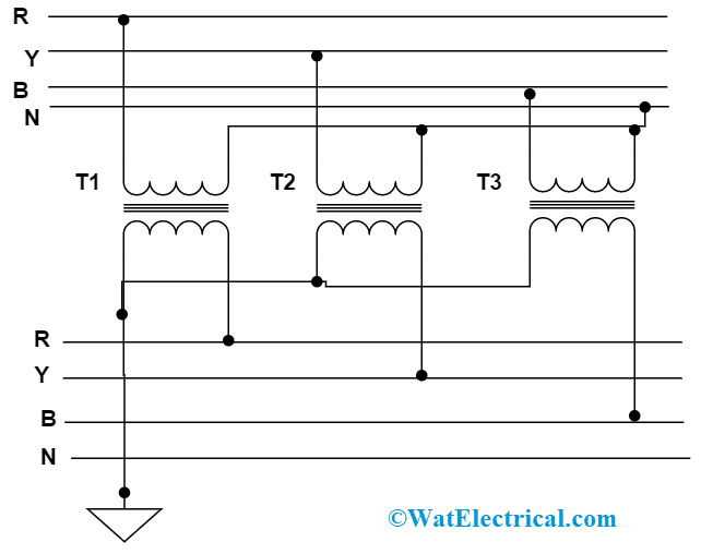 Star Star Connection In Three Phase Transformer