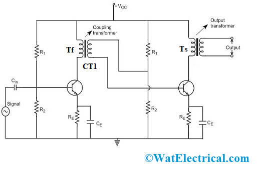 Transformer Coupled Amplifier Circuit