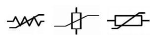 Varistor Symbols